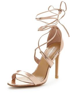 glamorous-rose-gold-tie-up-sandal
