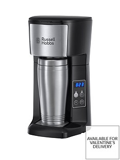 Russell Hobbs Brew and Go Coffee Machine with Travel Cup - 22630