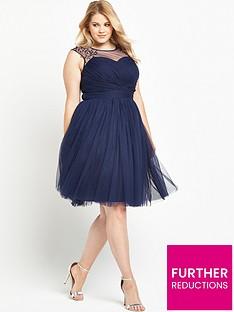 little-mistress-curve-embellished-tullenbspprom-dressnbsp