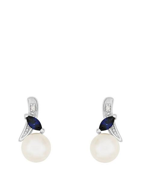 love-pearl-9ct-whitenbspgold-diamond-set-freshwater-pearl-and-created-sapphire-earrings