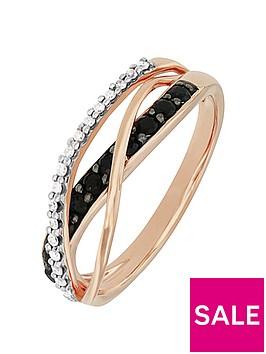 love-gem-9ctnbsprose-gold-black-sapphire-and-diamond-crossover-ring