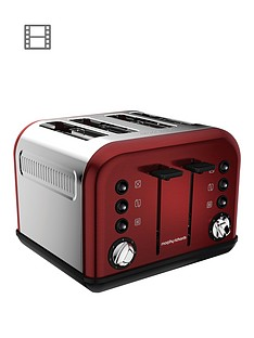 morphy-richards-accents-4-slice-toaster-red
