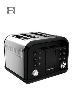 morphy-richards-accents-4-slice-toaster-black