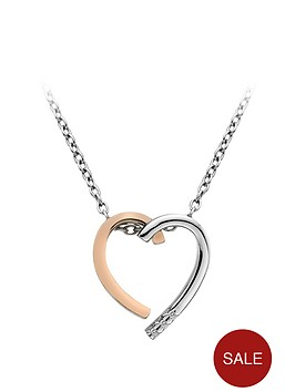 hot-diamonds-sterling-silver-and-rose-gold-plated-heart-pendant