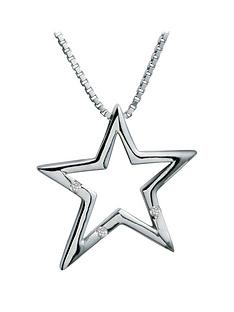 hot-diamonds-sterling-silver-diamond-star-pendant