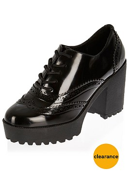 river-island-high-lace-up-chunky-solenbsp