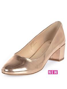 river-island-block-heel-ballet-shoe