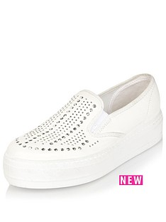 river-island-river-island-slip-on-double-sole-trainer