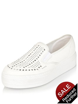 river-island-slip-on-double-sole-trainer