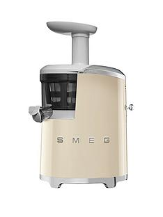 Smeg SJF01 Retro Style Slow Juicer - Cream