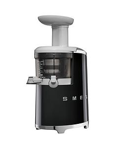 Smeg SJF01 Retro Style Slow Juicer - Black