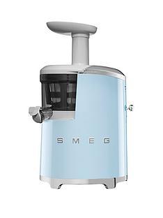Smeg SJF01 Retro Style Slow Juicer - Pastel Blue