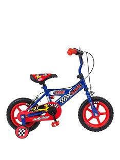 sonic-zoom-boys-bike-8-inch-frame-redblue