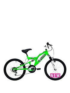 flite-turbo-boys-full-suspension-bike-11quot-frame-neon-green