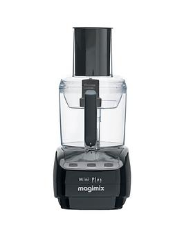 Magimix Le Mini Plus Blendermix Food Processor - Black