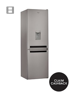 whirlpool-supreme-no-frost-bsnf8451oxaqua-60cm-fridge-freezer-stainless-steel
