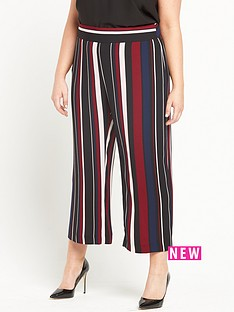 ri-plus-striped-crop-trouser