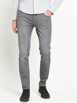 lee-malone-raw-edge-skinny-fit-jeans