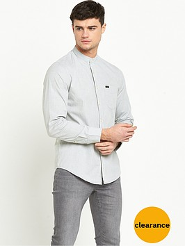 lee-bandcollar-long-sleeve-shirt