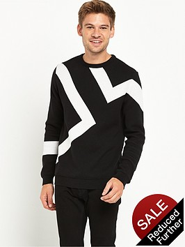 river-island-lightning-knitted-jumper