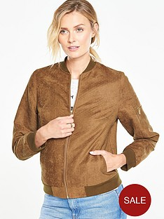 v-by-very-suedette-bomber-jacketnbsp