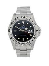 Explorer II Black Dial Mens Watch Pre-Owned Including Paperwork