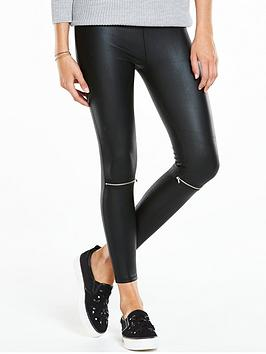 v-by-very-zip-knee-coated-leggings