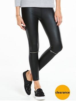 v-by-very-zip-knee-coated-leggings
