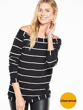 v-by-very-bardot-sweater-top