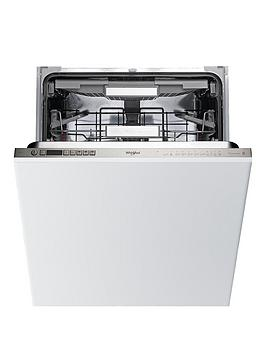 Whirlpool Wio3T123Pef Built-In 14-Place Dishwasher With Quick Wash, 6Th Sense, Power Clean Pro - White - Dishwasher Only Best Price, Cheapest Prices