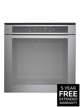 whirlpool-fusion-akzm6692ixl-built-in-oven-stainless-steel