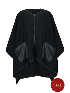 v-by-very-zip-front-pocket-detail-cape