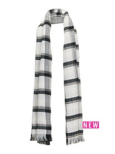 v-by-very-reversible-check-amp-herringbone-blanket-scarf