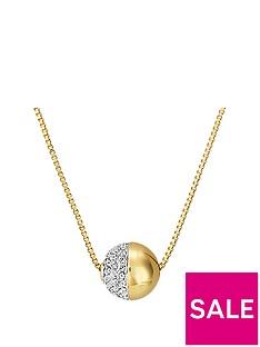 buckley-london-gold-tone-greenwich-crystal-pendant