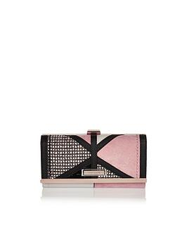 river-island-boucle-panel-cliptop-purse