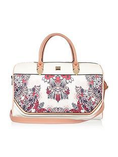 river-island-floral-weekend-bag
