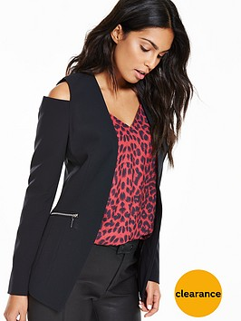 v-by-very-cold-shoulder-blazer