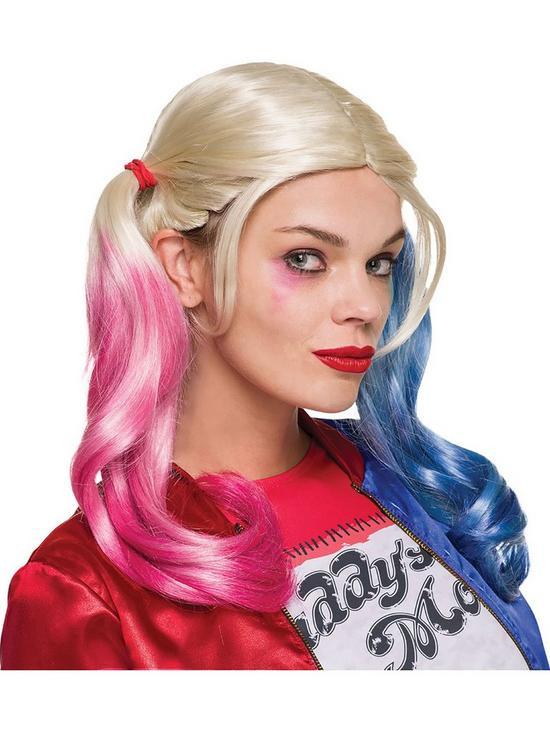 Harley Squad Suicide Quinn Wig N0OX8nPkw