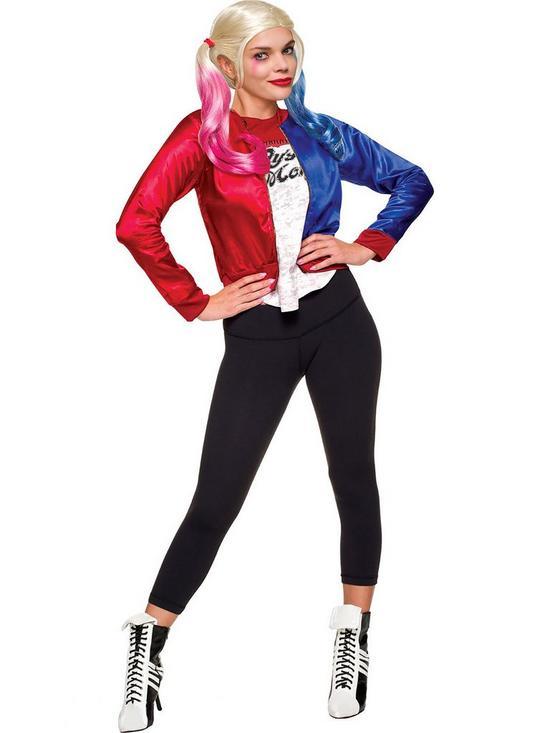 aa0e0e630361 Suicide Squad Harley Quinn Costume Kit