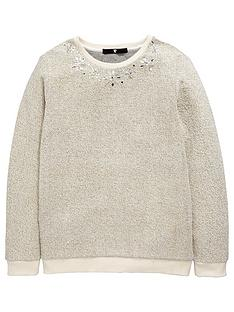 v-by-very-girls-sparkle-embellished-knit-jumper