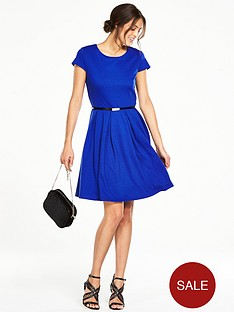 v-by-very-tall-ponte-fit-and-flare-dress-blue