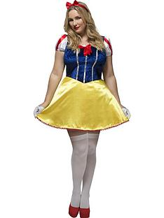 curves-fairytalenbspsnow-white-adults-fancy-dress-costume-plus-size