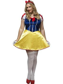 curves-fairytalenbspsnow-white-adults-fancy-dress-costume-plus-size