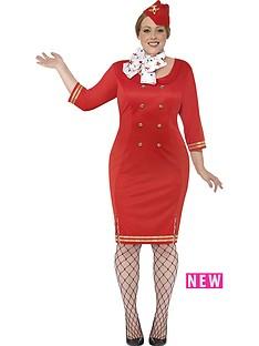curves-air-hostess-dress-neckscarf-amp-hat-adults-plus-size-costume