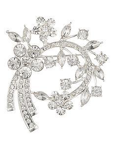 anne-klein-silver-tone-crystal-cluster-brooch