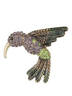 anne-klein-gold-tone-enamel-hummingbird-brooch