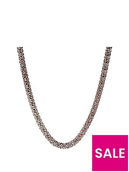 anne-klein-rose-gold-tone-crystal-tube-necklace
