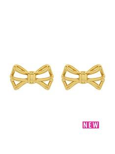 ted-baker-geometric-bow-earrings