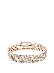 anne-klein-rose-gold-tone-diamante-coil-bracelet
