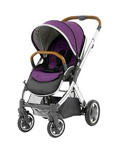 babystyle-oyster2-pushchair--mirror-finish-tan-handle